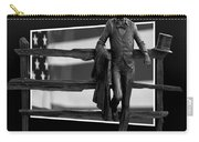 Abe Lincoln In Black And White Carry-all Pouch
