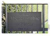 Abercrombie And Fitch Store In Paris France Carry-all Pouch