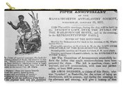 Abolition Meeting, 1837 Carry-all Pouch