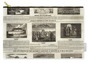 Abolitionism, 1736 Carry-all Pouch