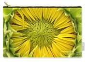 About To Be A Sunflower Carry-all Pouch