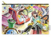 About Women And Girls 05 Carry-all Pouch by Miki De Goodaboom