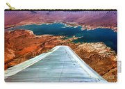 Above Lake Mead By Diana Sainz Carry-all Pouch