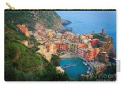 Above Vernazza Carry-all Pouch by Inge Johnsson