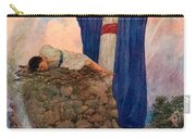 Abraham And Isaac On Mount Moriah Carry-all Pouch