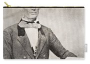 Abraham Lincoln, 1809 – 1865, Seen Here In 1854.  16th President Of The United States Of America Carry-all Pouch