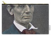 Abraham Lincoln Carry-all Pouch by American Photographer