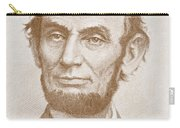 Abraham Lincoln Carry-all Pouch by American School