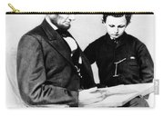 Abraham Lincoln And Tad Carry-all Pouch