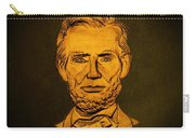 Abraham Lincoln  Carry-all Pouch by David Dehner