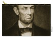 Abraham Lincoln Carry-all Pouch by Francis Bicknell Carpenter