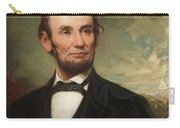 Abraham Lincoln  Carry-all Pouch by George Henry Story