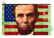 Abraham Lincoln Gettysburg Address All Men Are Created Equal 20140211p68 Carry-all Pouch