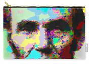 Abraham Lincoln Portrait - Abstract Carry-all Pouch