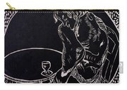 Absinthe Drinker After Picasso Carry-all Pouch