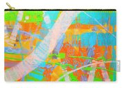 Abstract 23614  Diptych  II Carry-all Pouch