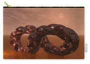Abstract 331 A 3d Copper Sculpture Carry-all Pouch