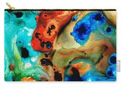 Abstract 4 - Abstract Art By Sharon Cummings Carry-all Pouch by Sharon Cummings