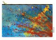 Abstract - Acrylic - Just Another Monday Carry-all Pouch by Mike Savad