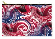 Abstract American Flag Carry-all Pouch