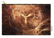 Abstract Angels Burning Sepia Carry-all Pouch