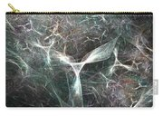 Abstract Angels White Portrait Carry-all Pouch