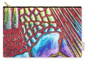 Abstract Animal Print Carry-all Pouch