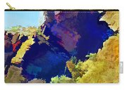 Abstract Arizona Mountain Peak In Autumn Carry-all Pouch