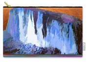 Abstract Arizona Mountains At Icy Dawn Carry-all Pouch