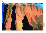 Abstract Arizona Mountains At Sunset Carry-all Pouch