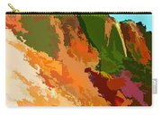 Abstract Arizona Mountains In The Afternoon  Carry-all Pouch