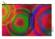Separate Yet Together - Abstract Art  Carry-all Pouch