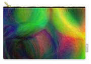 Journey - Square Abstract Art  Carry-all Pouch