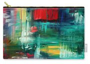 Abstract Art Colorful Original Painting Bold And Beautiful By Madart Carry-all Pouch
