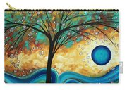 Abstract Art Contemporary Painting Summer Blooms By Madart Carry-all Pouch