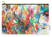Abstract Art Focused Inward Towards The Divine 4 Carry-all Pouch
