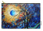 Abstract Art Landscape Metallic Gold Textured Painting Eye Of The Universe By Madart Carry-all Pouch