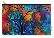 Abstract Art Landscape Tree Bold Colorful Painting A Secret Place By Madart Carry-all Pouch