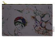 Abstract Art On The Beach Carry-all Pouch