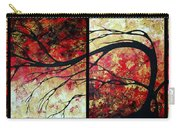 Abstract Art Original Landscape Painting Bring Me Home By Madart Carry-all Pouch by Megan Duncanson
