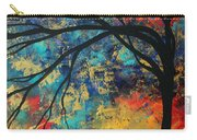 Abstract Art Original Landscape Painting Go Forth II By Madart Studios Carry-all Pouch