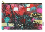 Abstract Art Original Tropical Landscape Painting Fun In The Tropics By Madart Carry-all Pouch by Megan Duncanson