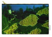 Abstract Art Projection Over Night Nature Scenery Carry-all Pouch