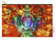 Abstract Series B5 Carry-all Pouch