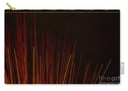 Abstract Background Of Red Sticks Carry-all Pouch