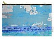 Silver Sky Beach Carry-all Pouch