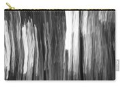 Abstract Black And White Composition Carry-all Pouch