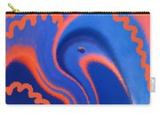Abstract Blue Bird Carry-all Pouch