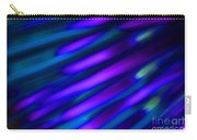 Abstract Blue Green Pink Diagonal Carry-all Pouch