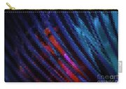 Abstract Blue Red Green Blur Carry-all Pouch